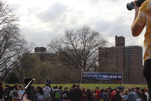 Presidential Hopeful Bernie Sanders in the Bronx