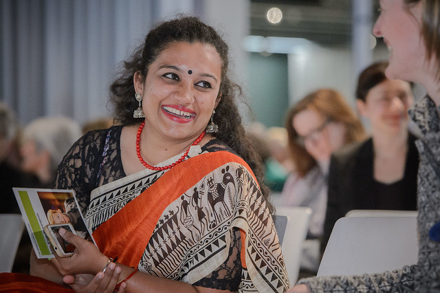 Parvathi Madappa (Cividep India, Workers' Rights and Corporate Accountability, Bangalore) Foto: Stephan Röhl