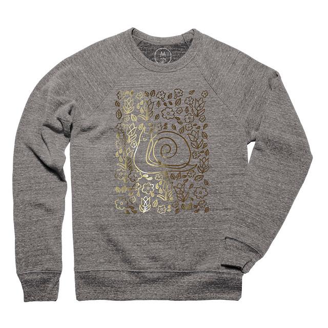Snail Garden Sweatshirt