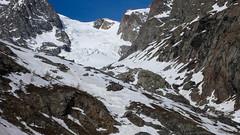 Trasa zjazdu lodowcem l