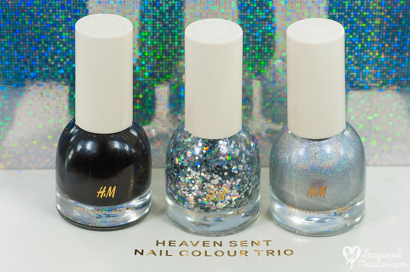 H&M Beauty - Heaven Sent Nail Colour Trio