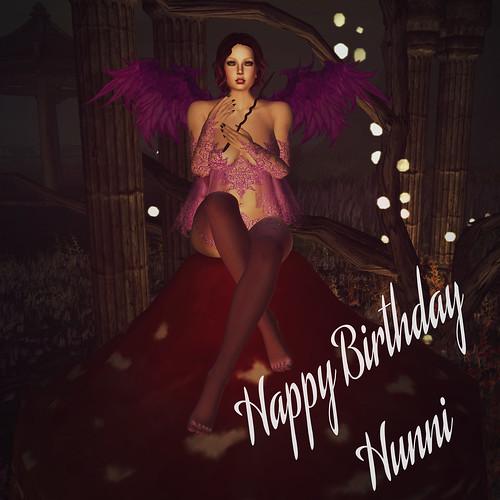 Happy Birthday Hunni!