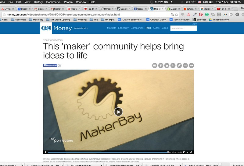 MakerBay on CNN