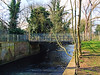 Bridge Over The River Crane, Crane Park,Twickenham - London.