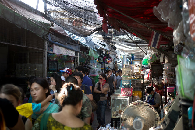 The Bangkok Weekend Market