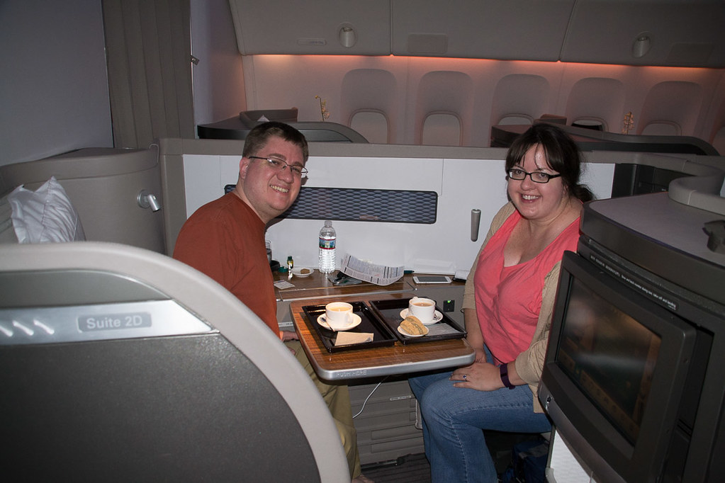 Cathay Pacific First Class Guest Seat