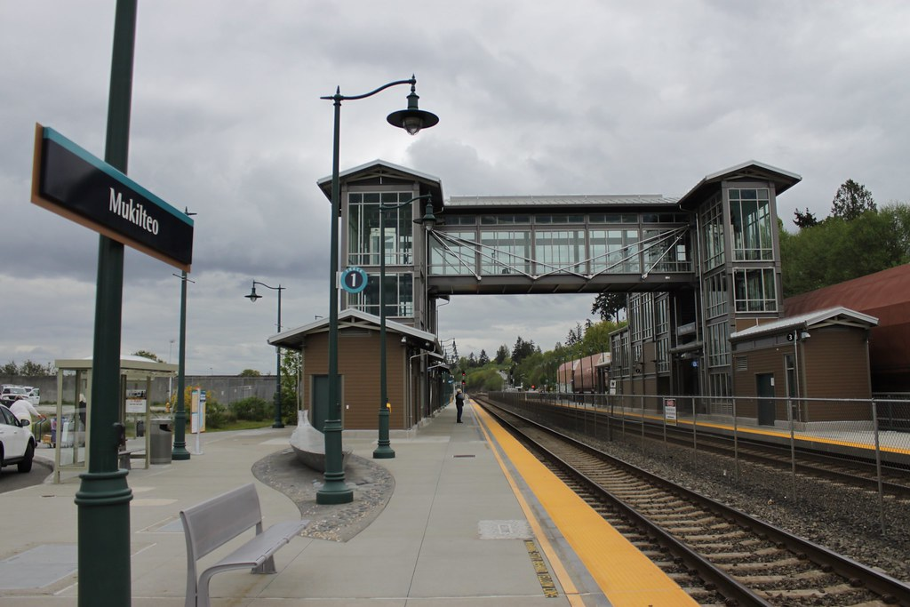 Mukilteo Station South Platform opening - April 2016