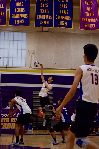 Boys Volleyball: MVHS vs. St. Francis High School
