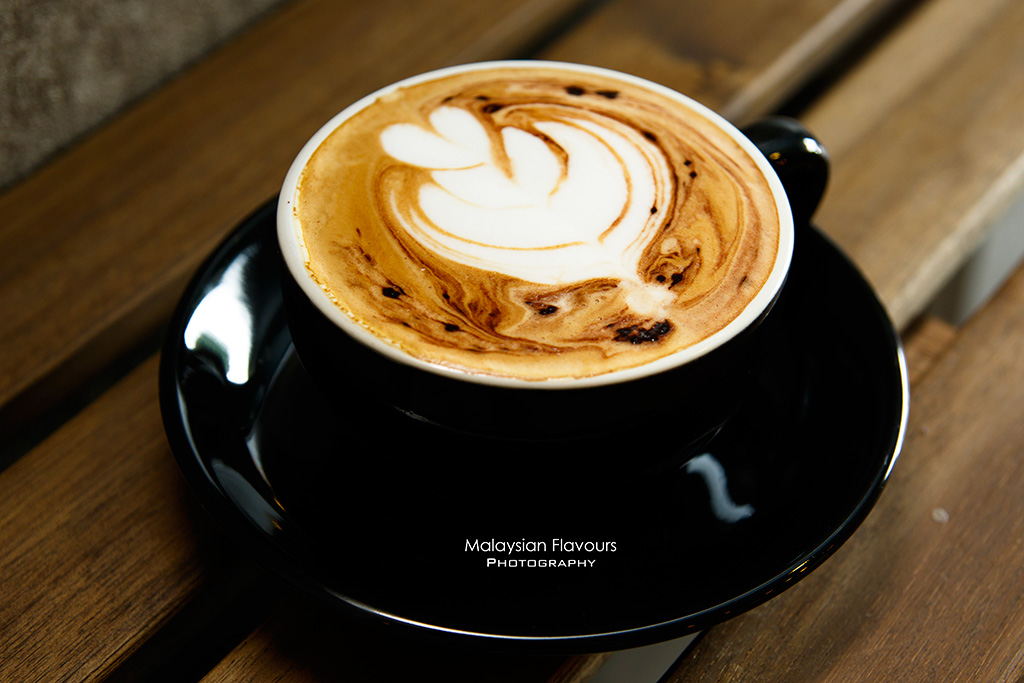 Heartbeans Coffee Cafe Pandan Indah KL cappuccino