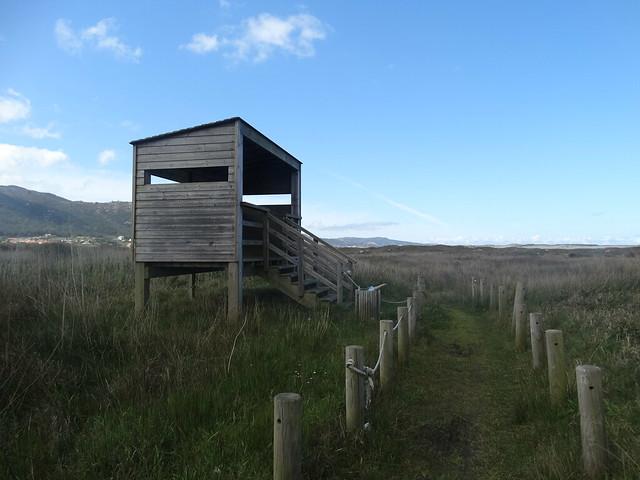 Observatorio de Aves en la laguna de Traba