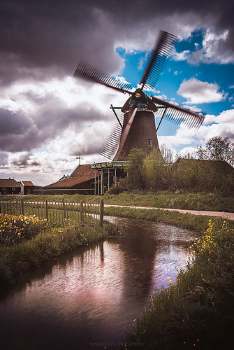 Windmill in colour