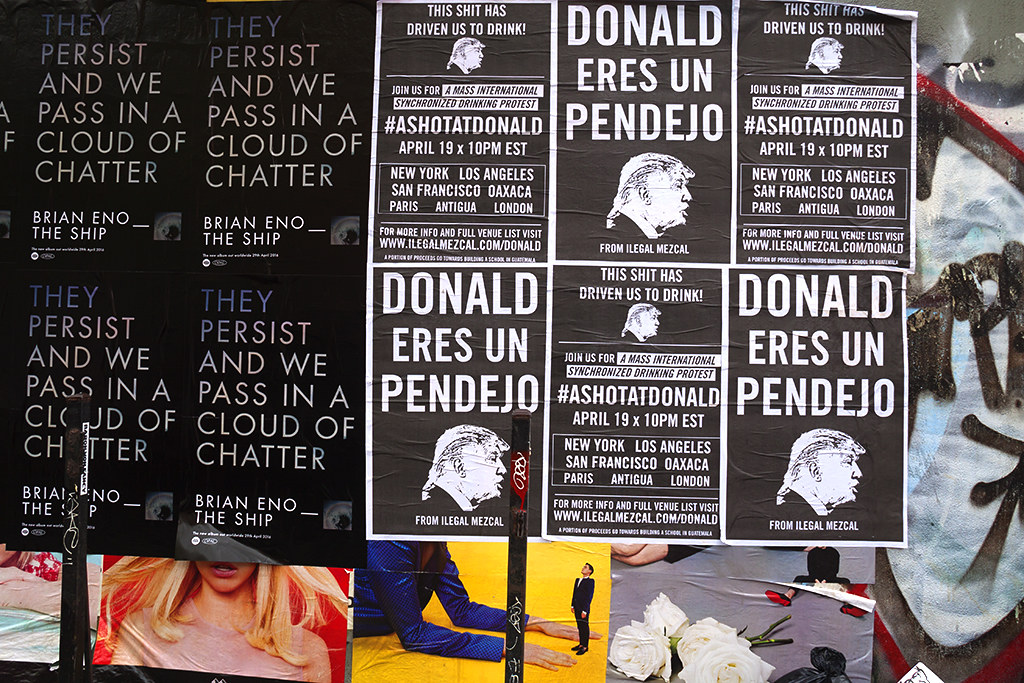 DONALD ERES UN PENDEJO--Lower East Side