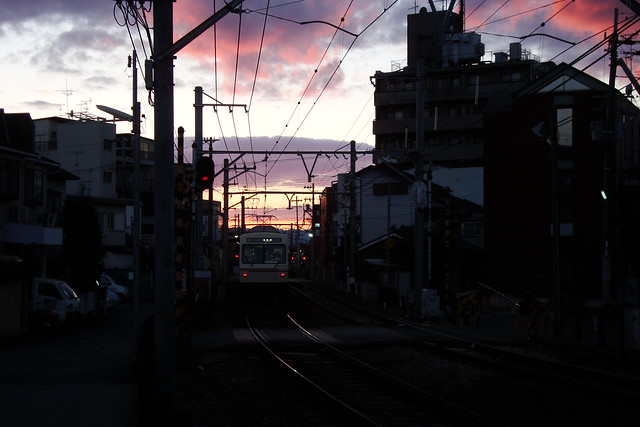 2015/12 叡山電車元田中駅近く #04