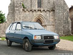 Mes voitures - Citroën Visa Club - 1980 - Photo of Sainte-Soline