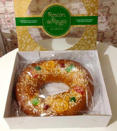 doce tradicional na Espanha, dia de Reis