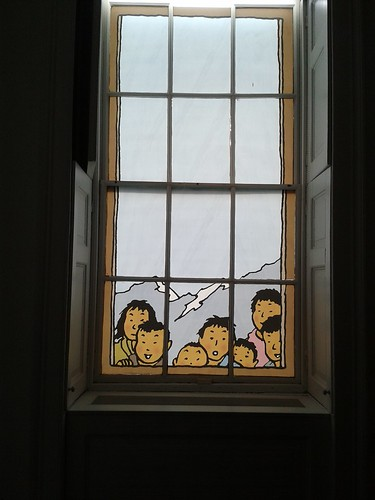 Tintin at Somerset House