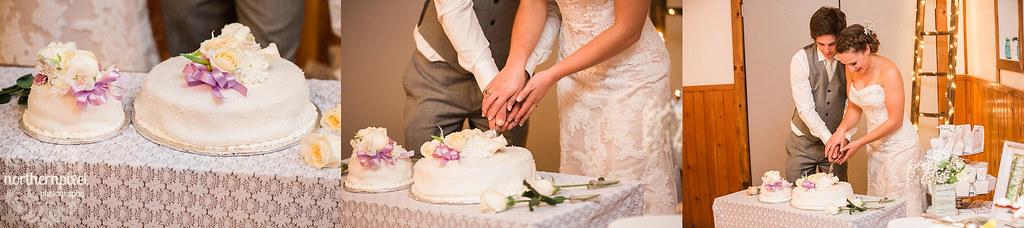 Cutting the Wedding Cade