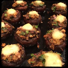 #homemade #stuffed #cremini mushrooms #CucinaDelloZio -