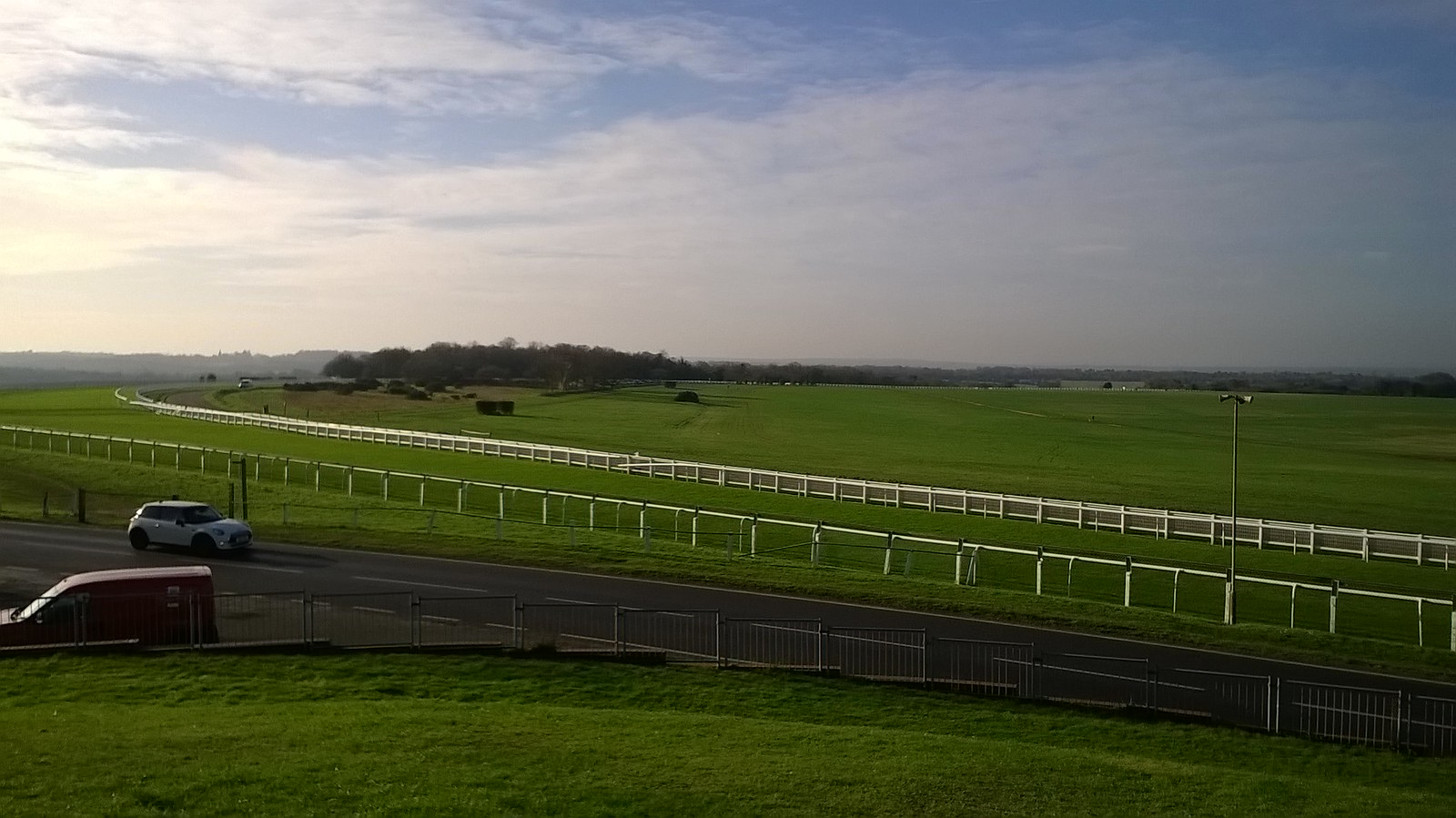 Epsom racecourse #2 from Tattenham Corner bank
