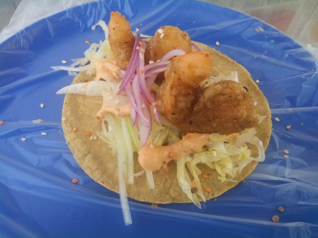 Pez K Ito Shrimp Taco
