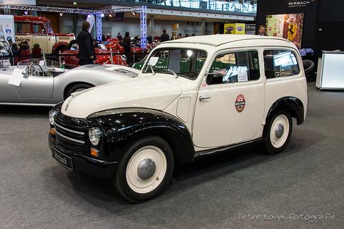Fiat 500 C Topolino Combi - 1954