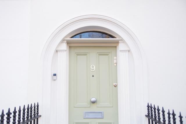 pistachio door
