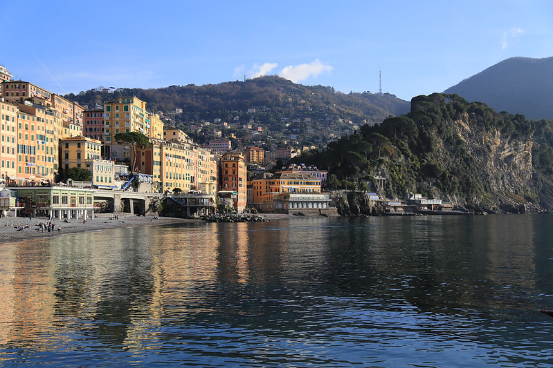 camogli city view