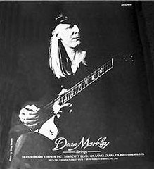Johnny Winter AD for Dan Markley Guitar Strings