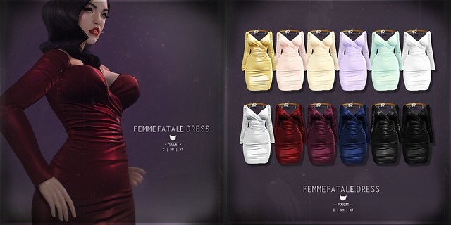 FemmeFatale.Dress - Collabor88