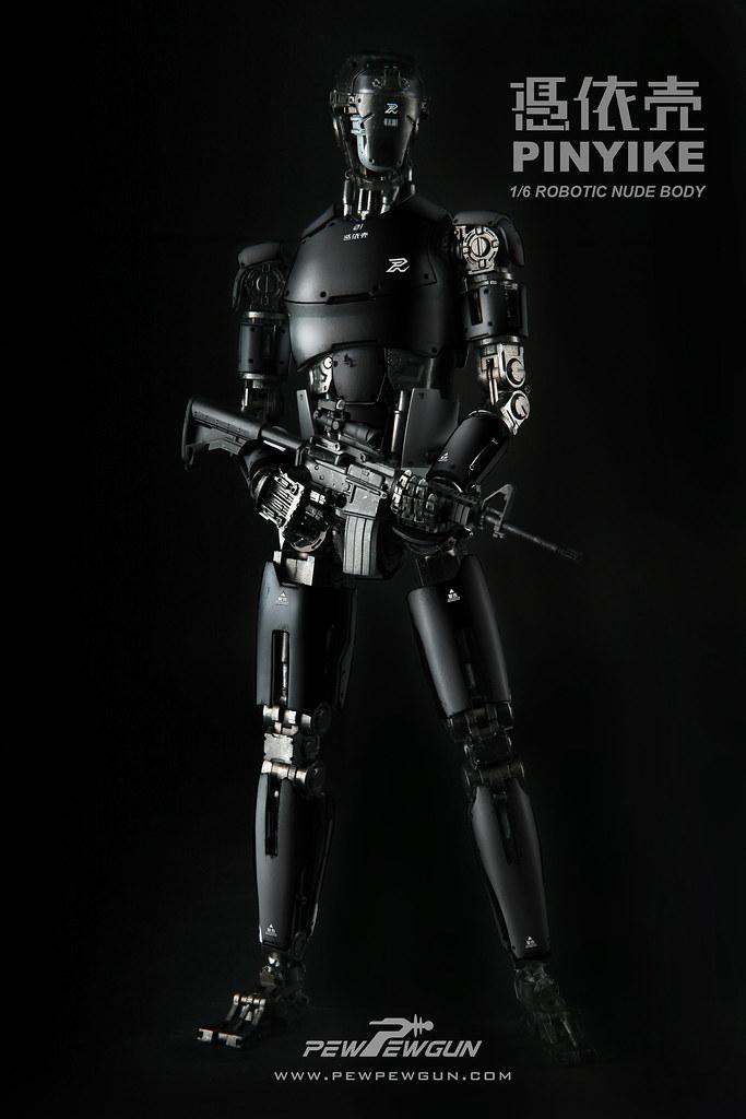 【開始正式預購!】本土新勢力崛起!PEW PEW GUN 1/6 ROBOTTIC NUDE BODY