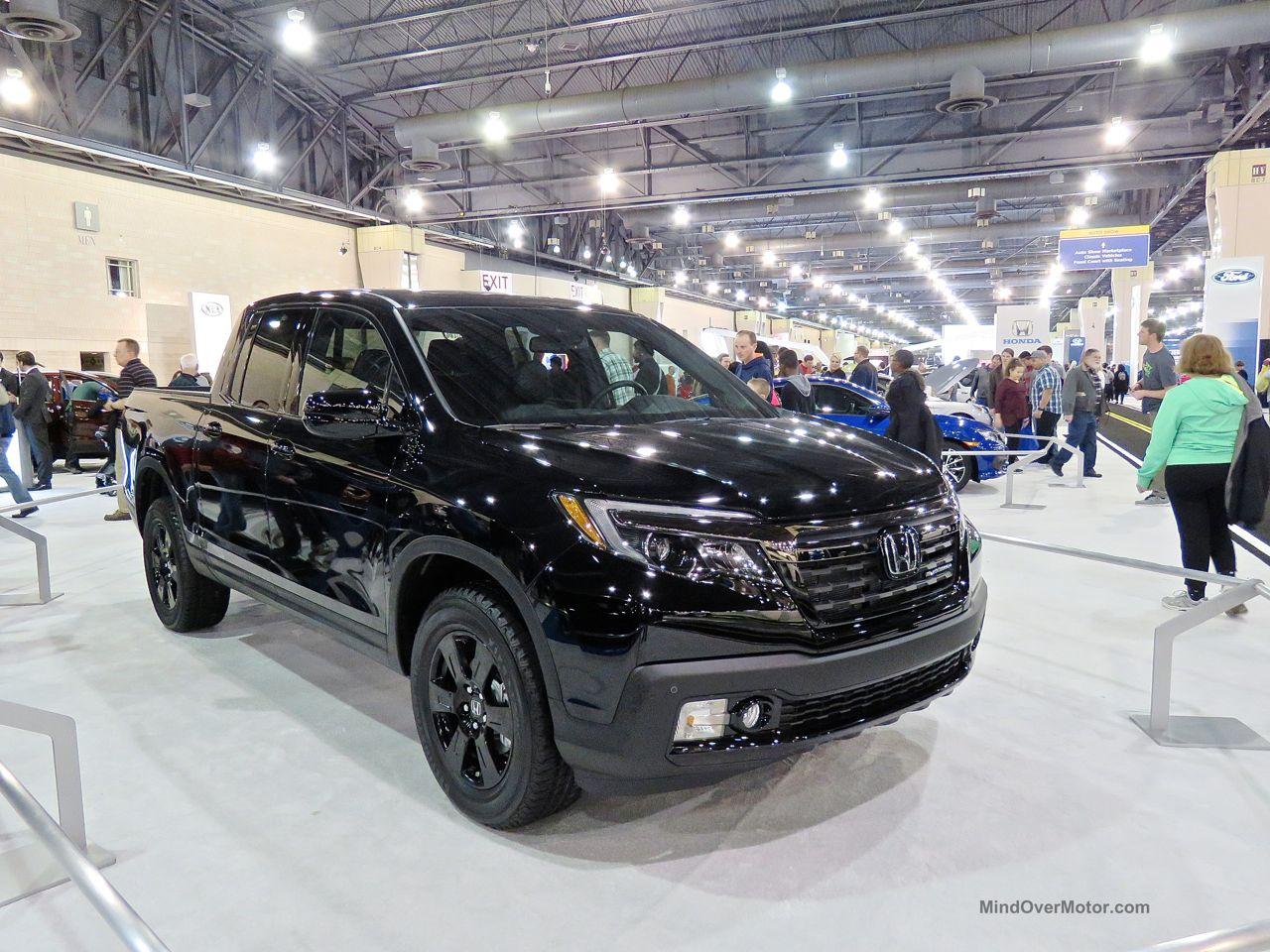 Philly Auto Show 2016 Honda Ridgeline