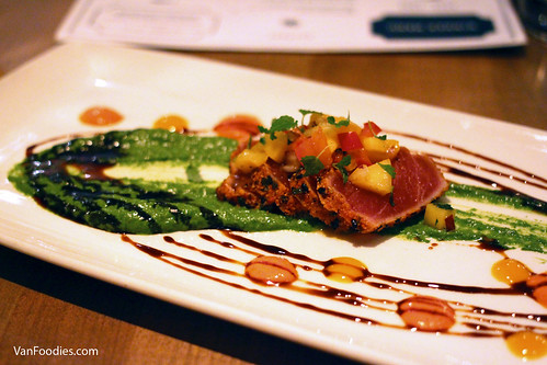 Seared Togarashi-Crusted Ahi Tuna