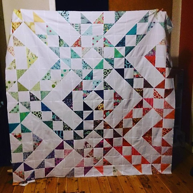 Thinking a border might be in order. #aussiecharmswap #aussiecharmalong #intulawoven