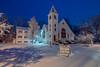 Snowy New England Dusk