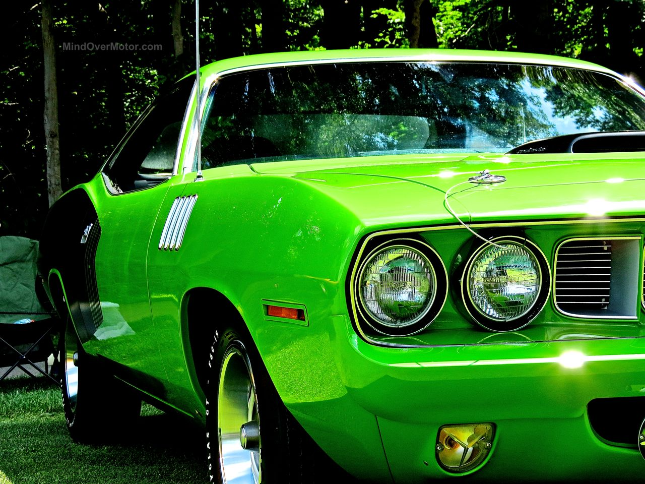 1971 Plymouth Hemicuda Concours of America 4
