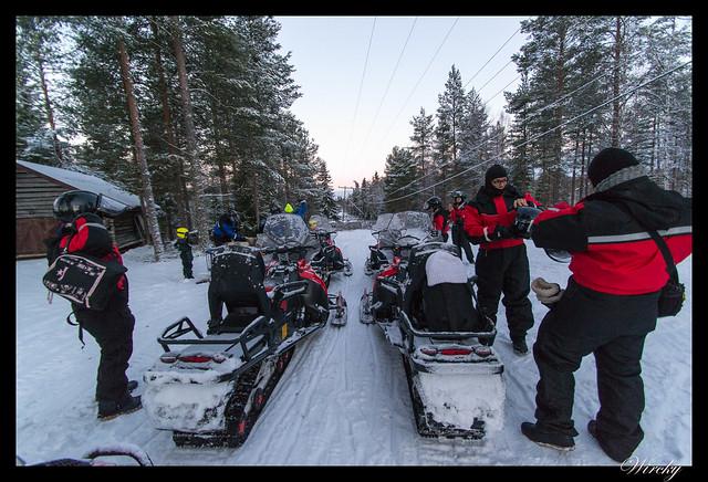 Laponia motos nieve renos pueblo papa noel - Moto nieve renos pueblo Papá Noel - Nuestras motos de nieve