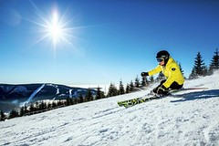 Skiareál ve Špindlu má vyhřívanou šestisedačkovou lanovku a rekordně rychlé zasněžování