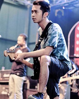 NANCY, Poppunk Magelang. At Creamfest Salatiga.