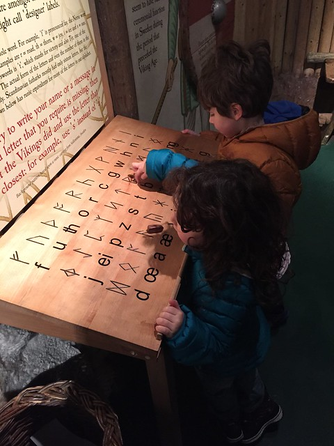 Dublin attractions for families: learning the Vikings' alphabet