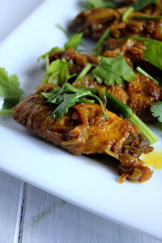 Masala Chicken Wings