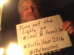 Turn out the lights for coal and fossil fuels in #EarthHour2016