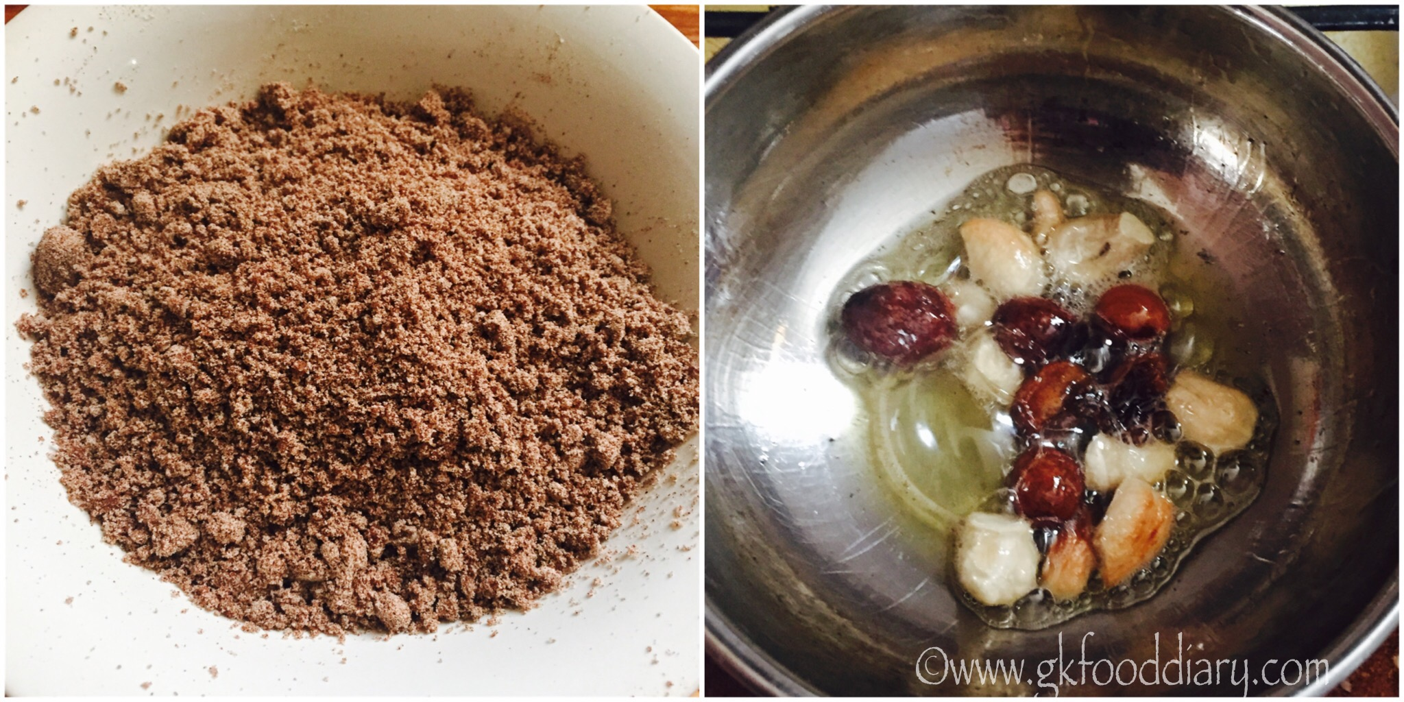 Ragi Puttu Recipe for Babies, Toddlers and Kids - step 5