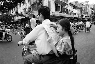 Saigon on Wheels, 1994 - by Ed Kashi