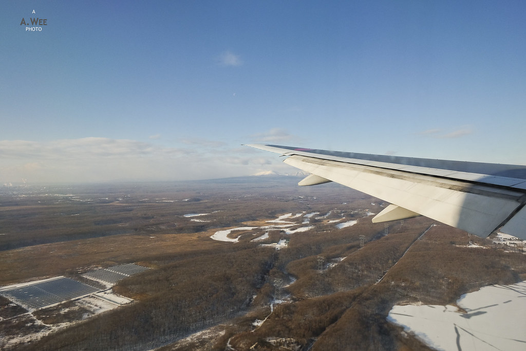 Landing into Chitose Airport