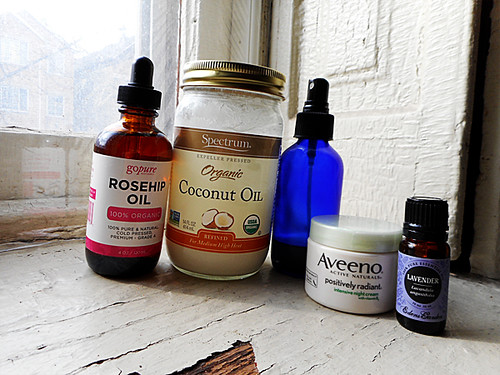 my bedtime skincare products