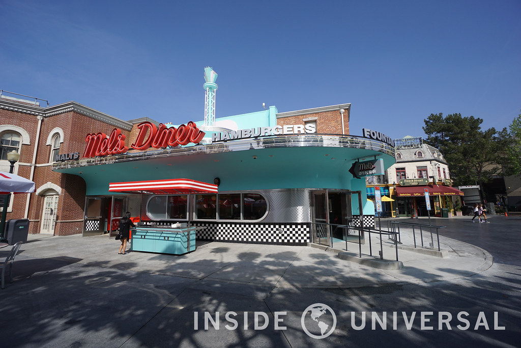 Photo Update: March 20, 2016 - Universal Studios Hollywood - Mel's Diner