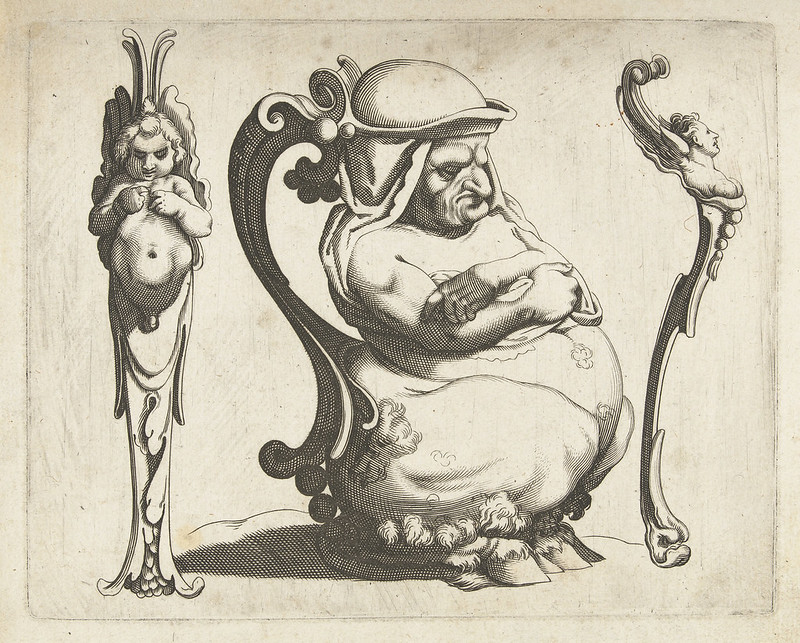 Arent van Bolten - Grotesque Creatures 13, 1604-1616