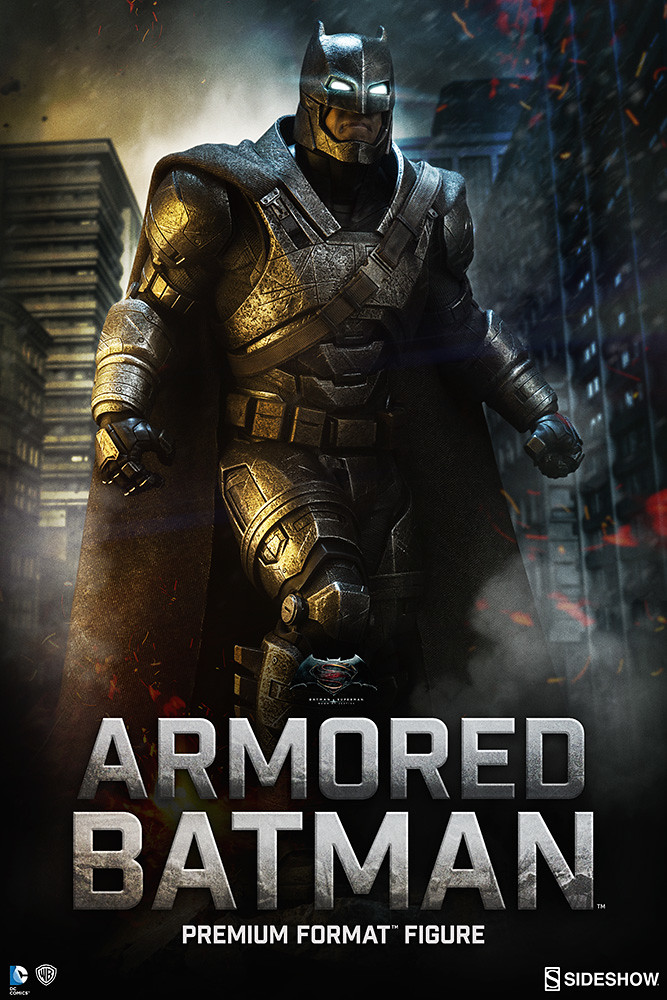 Sideshow Collectibles【重裝蝙蝠俠】Armored Batman 1/4 比例 全身雕像