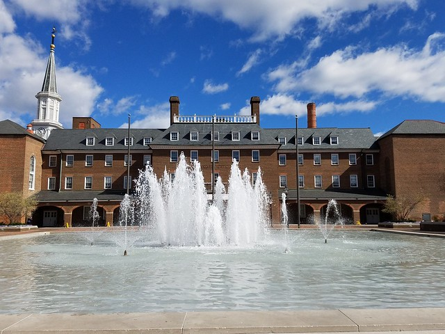 Alexandria, Virginia City Hall Fountain