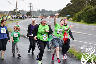 2016 Oregon Coast Aquarium 5k Starting Photos